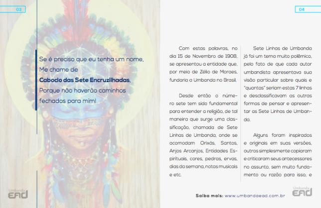 ebook Orixás na Umbanda